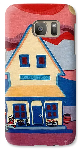 Galaxy Case featuring the painting The General Store by Joyce Gebauer