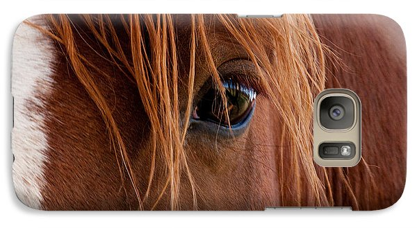 Galaxy Case featuring the photograph The Gentle Eye  by Eric Rundle