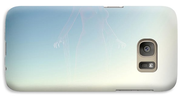 Galaxy Case featuring the digital art The Ghost Of The Witch... by Tim Fillingim