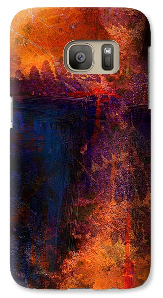 Galaxy Case featuring the mixed media The Gift by Shevon Johnson