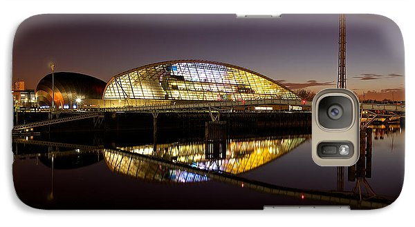 Galaxy Case featuring the photograph The Glasgow Science Centre by Stephen Taylor