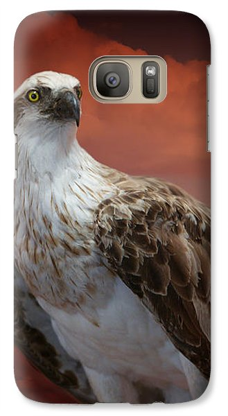 Galaxy Case featuring the photograph The Glory Of An Eagle by Holly Kempe