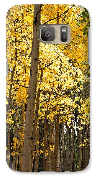 Galaxy Case featuring the photograph The Golden Tree by Eric Rundle