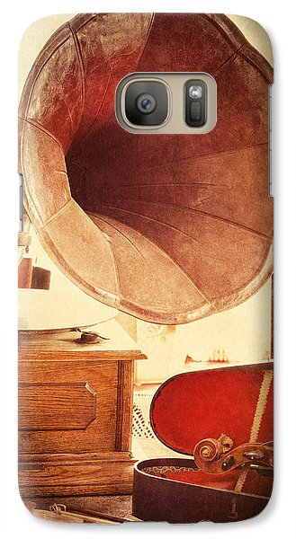 Galaxy Case featuring the photograph The Golden Years by Amy Weiss