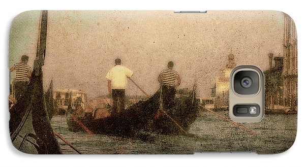 Galaxy Case featuring the photograph The Gondoliers by Micki Findlay