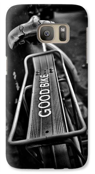 Galaxy Case featuring the photograph The Good Bike by Brian Carson