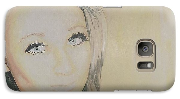 Galaxy Case featuring the painting The Good Sister by Cherise Foster