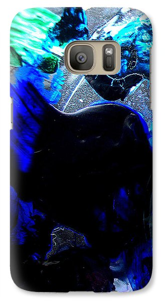 Galaxy Case featuring the digital art The Good With The Bad by Christine Ricker Brandt