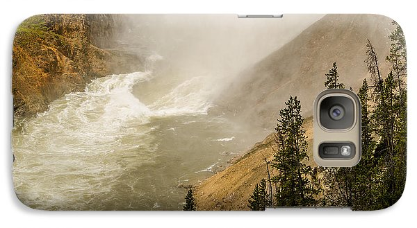 Galaxy Case featuring the photograph The Grand Canyon Of Yellowstone by Yeates Photography
