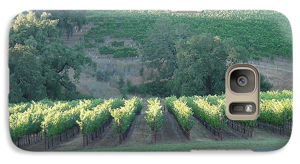 Galaxy Case featuring the photograph The Grape Lines by Shawn Marlow