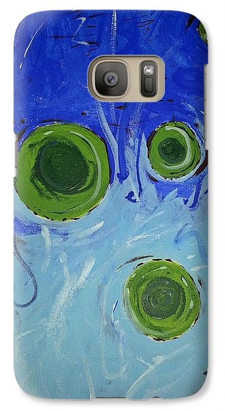 Galaxy Case featuring the painting The Gravity Of This Or That by Yshua The Painter