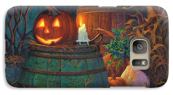 The Great Pumpkin Galaxy S7 Case by Michael Humphries