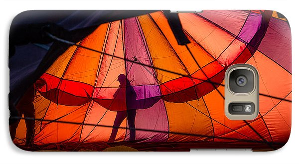 Galaxy Case featuring the photograph The Great Reno Balloon Race 01 by Janis Knight