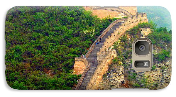 Galaxy Case featuring the photograph The Great Wall 2 by Kay Gilley