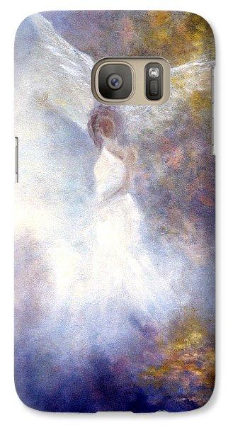 Fairy Galaxy S7 Case - The Guardian by Marina Petro