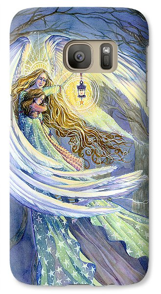 Religion Galaxy S7 Case - The Guardian by Sara Burrier