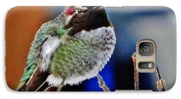 Galaxy Case featuring the photograph The Guardian by VLee Watson