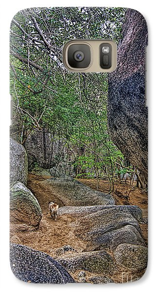 Galaxy Case featuring the photograph The Guide by Olga Hamilton