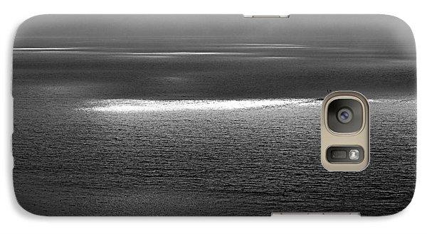 Galaxy Case featuring the photograph The Guiding Light by AJ  Schibig