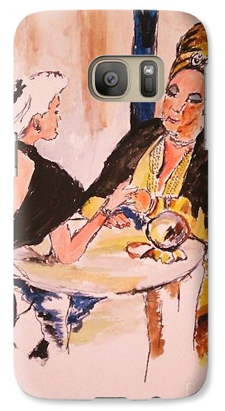 Galaxy Case featuring the painting The Gyspy by Helena Bebirian