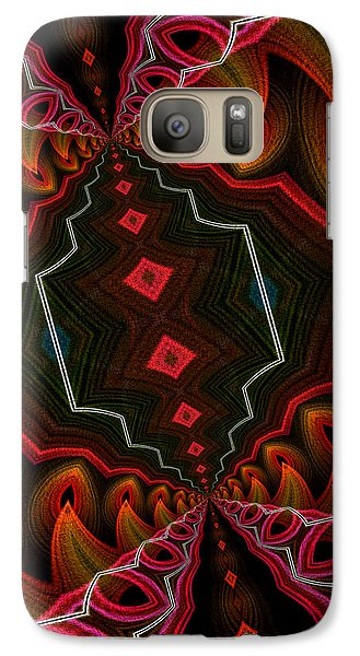 Galaxy Case featuring the digital art The Hall Of The Apostolates by Owlspook
