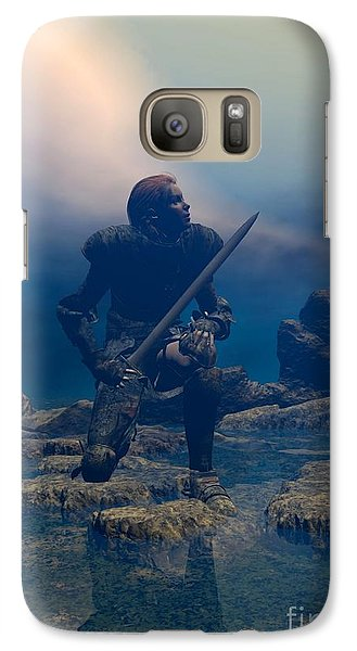 The Hand Of God On Your Head Galaxy S7 Case