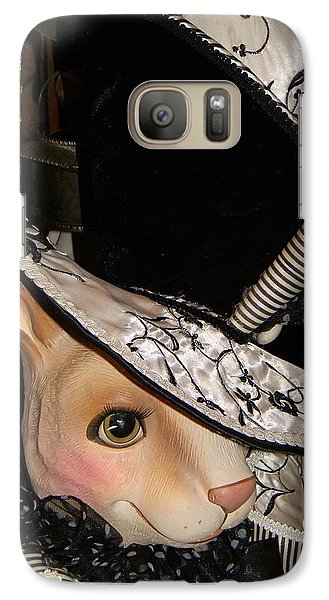 Galaxy Case featuring the photograph The Hat by Jean Goodwin Brooks