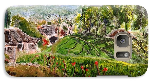 Galaxy Case featuring the  The Hills Are Alive... by Belinda Low