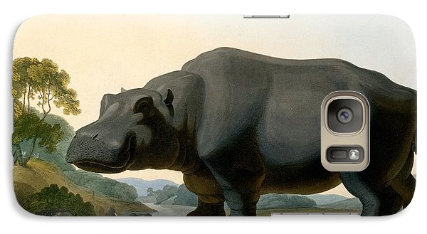 The Hippopotamus, 1804 Galaxy Case by Samuel Daniell