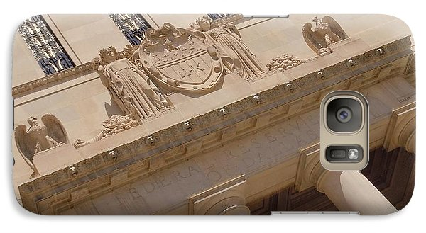 Galaxy Case featuring the photograph The Historical Federal Reserve Bank Of Dallas by Robert ONeil
