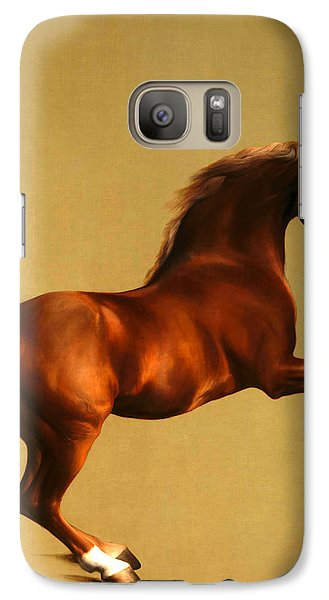 Galaxy Case featuring the digital art The Horse by George Stubbs