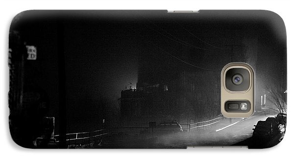 Galaxy Case featuring the photograph The House Of Joy Before Sunrise by Ron Chilston