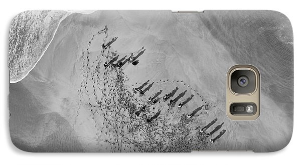 Helicopter Galaxy S7 Case - The Hunters Hunted by Sean Davey