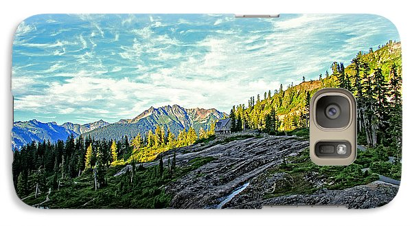 Galaxy Case featuring the photograph The Hut. by Eti Reid