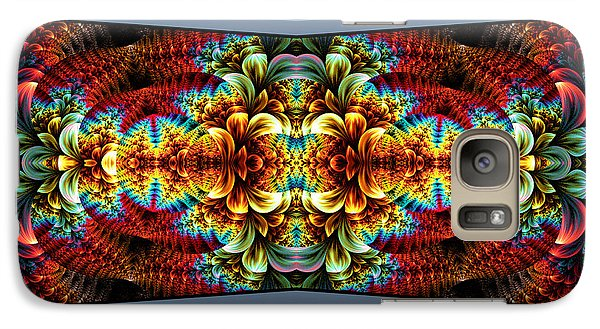 Galaxy Case featuring the digital art The Illusion Of Depth by Lea Wiggins