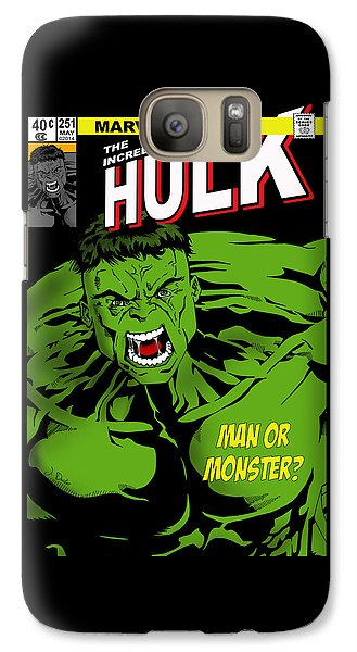 The Incredible Hulk Galaxy S7 Case