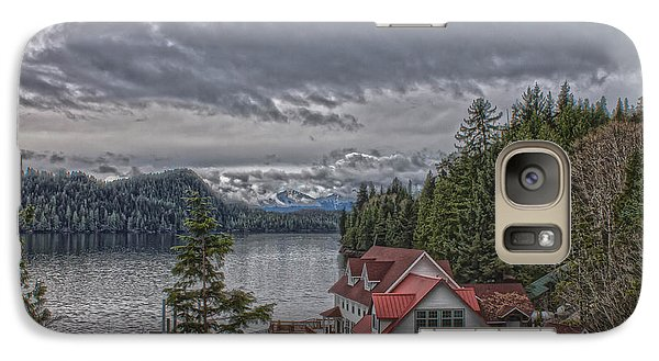 Galaxy Case featuring the photograph The Inlet  by Timothy Latta