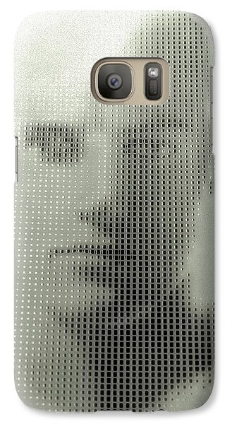 Galaxy Case featuring the photograph The Invisable Man by Steve Godleski