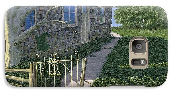 Galaxy Case featuring the painting The Iron Gate by Gary Giacomelli