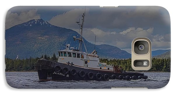 Galaxy Case featuring the photograph The Jennie B by Timothy Latta