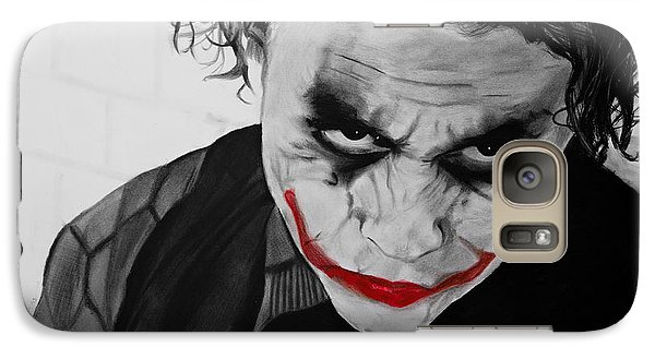The Joker Galaxy S7 Case by Robert Bateman