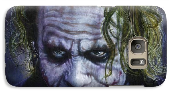 The Joker Galaxy S7 Case by Timothy Scoggins