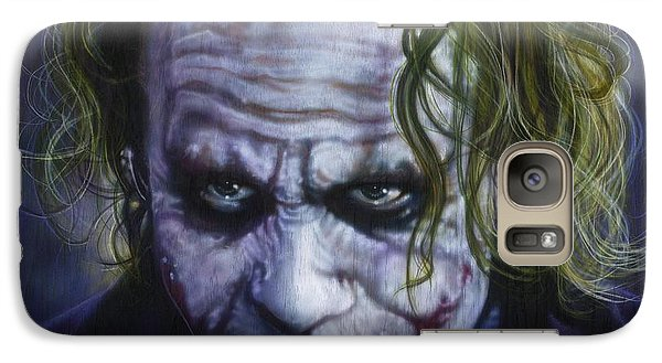 The Joker Galaxy S7 Case by Tim  Scoggins