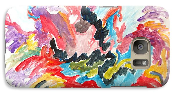 Galaxy Case featuring the painting The Joy Of Recovery by Esther Newman-Cohen