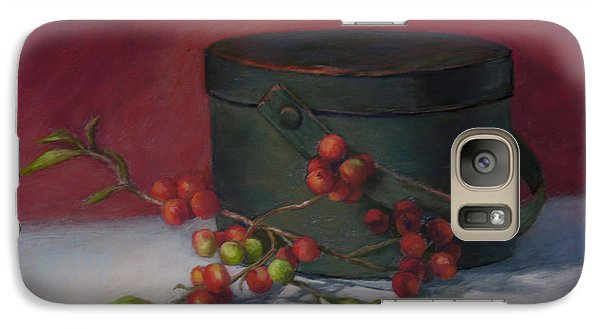 Galaxy Case featuring the painting The Keeping Box by Vikki Bouffard