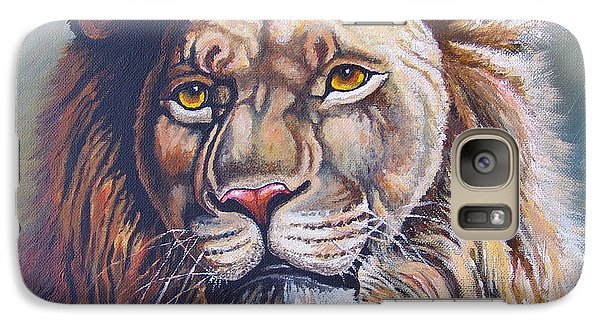 Galaxy Case featuring the painting The King by Anthony Mwangi