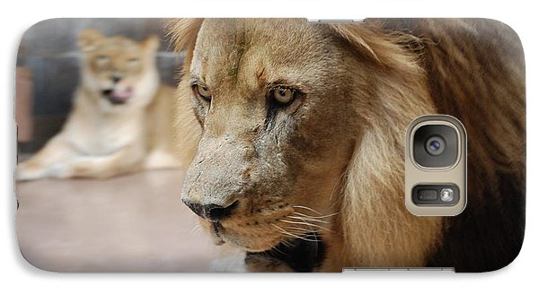 Galaxy Case featuring the photograph The King by Mark McReynolds