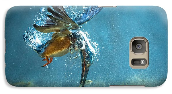 The Kingfisher Galaxy S7 Case