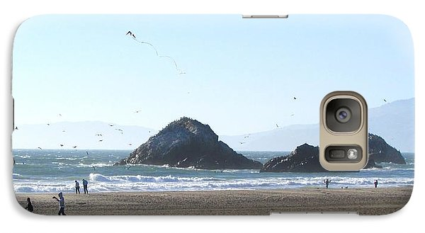 Galaxy Case featuring the photograph The Kite by Brenda Pressnall