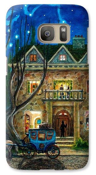 Galaxy Case featuring the painting The Knocker by Matt Konar